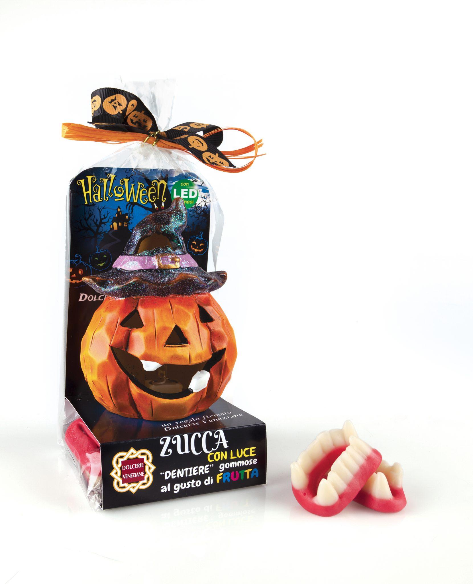 Zucca luminosa dolcerie veneziane for Zucca halloween luminosa